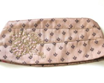 1940s Style Garrison Cap/Hat Pin Up Rockabilly Vintage Fleur D Lis Golden Bronze