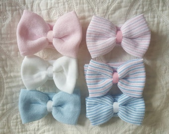 Hospital Newborn Headband, Newborn's First Bow, newborn girl hospital bow.  Baby Headband for first hospital pictures.