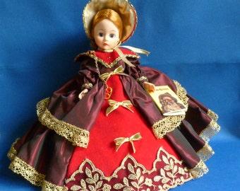 Madame Alexander Christmas Caroling Doll, Number 1149, Ten Inch, Portrette, 1992-1993, MIB