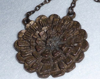Necklace. Bronze. Finland. Vintage.