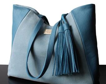 Tote bag, suede tote bags, luxury bags, Blue bags, Blue suede bags, Blue suede, Blue bags