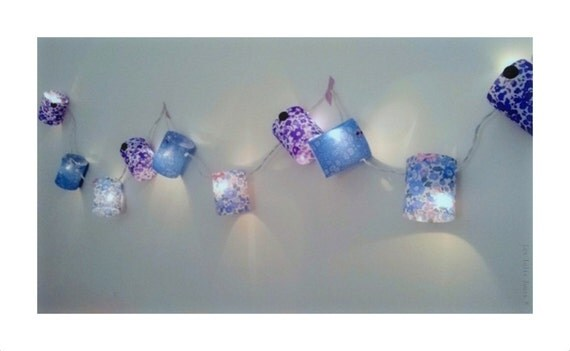 Garland light Nightlight BLUEBELL