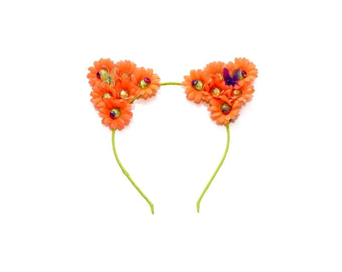 Neon Cat Ear Headband