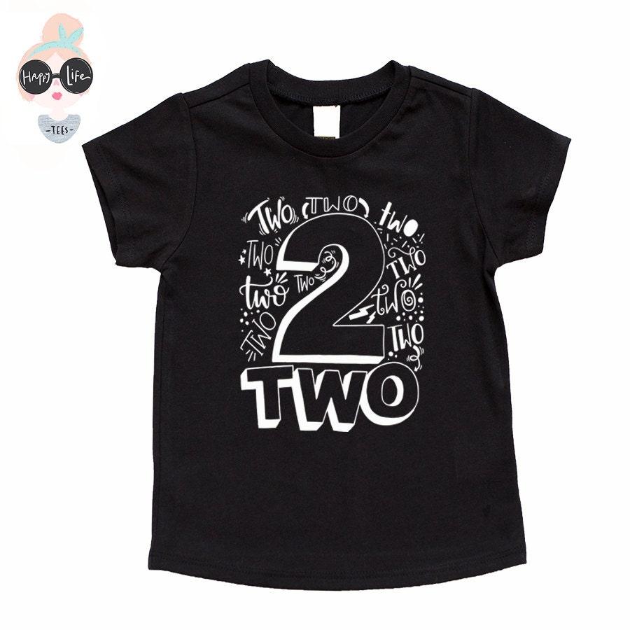 2 Year Old Birthday Shirt Boy Second Shirts For Boys