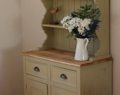 NOW SOLD Welsh Dresser  solid pine  painted furniture  dining room  kitchen  farmhouse  storage  country interiors  solid wood