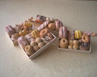 Dolls House Miniature  Bread Box