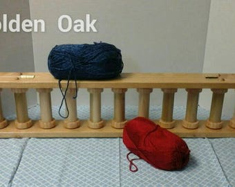 2- Handmade Wooden Yarn Holder   11 Bobbin * Made to Order*