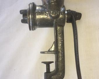 Vintage Keystone metal meat grinder