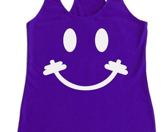 Smiley Bar Workout Tank
