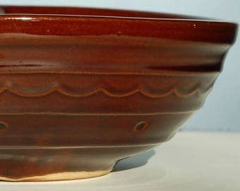 Mar-Crest Daisy Dot Stoneware - Divided Vegetable Dish