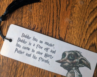 Dobby: Harry Potter bookmark