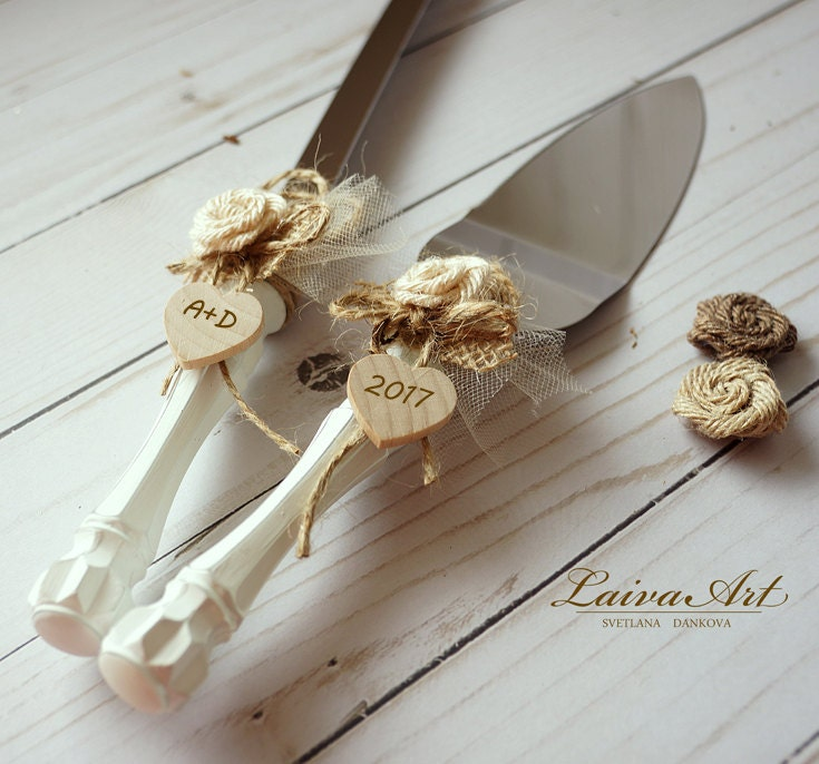 wedding cake knife server set cake server set amp knife rustic wedding cake cutting set 8677