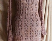 Moonalia Dream Little Lace Dress in Cream