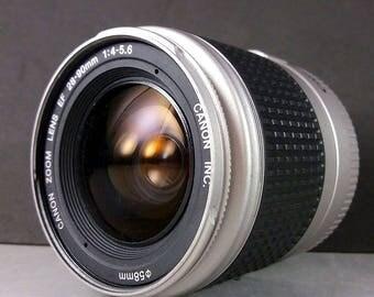 Canon EF 28-90mm f/4-5,6 Chrome Zoom Lens for EOS 5D 60D 650D 7D 50d cameras