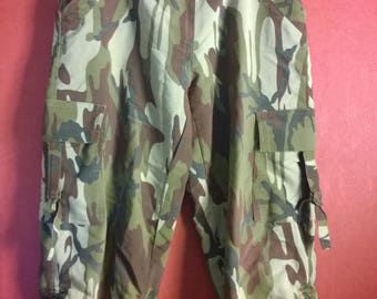 Vintage 90s Pants Army Camoflage Shorts VINTAGE  1990s PANTS camoflage Womens Pants