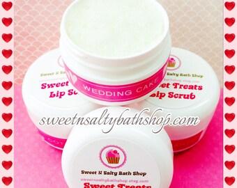 Wedding Cake Sweet Treats Flavored Lip Scrub