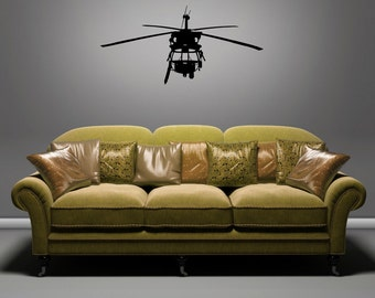 HH-60 - Front View - Removable Wall Art Vinyl Decal
