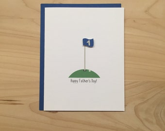 Happy Father's Day Card, Father's Day Card, Golf Father's Day Card, Golf Card for Dad, Golf Card for Husband, Dad Father's Day Card
