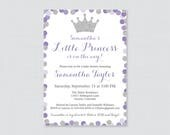 Princess Baby Shower Invi...