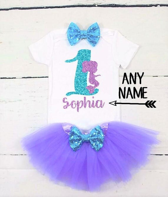 Under The Sea First Birthday Outfit Little Mermaid First