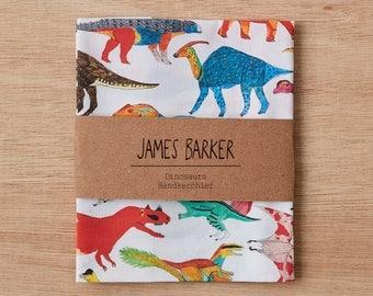 Dinosaurs Handkerchief, Pocket Square, wedding handkerchief, gift for him, mens pocket square, mens handkerchief, mens gift, dinosaur