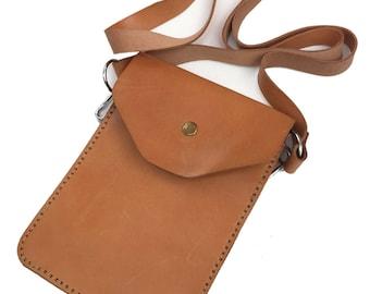 Small crossbody leather bag Messenger bag Women shoulder bag Perfect gift for her Handbag Leather Purse Mini bag Mother gift For wife