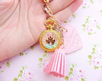 Lolita Pink Disney Princess Mobile Phone Stap