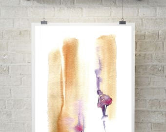 Abstract Art Print, modern wall art, watercolor print, print from original watercolourr, abstract art
