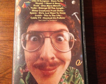 FREE Shipping, Weird Al Yankovic - Dare to be Stupid, Cassettes, Cassette tape,