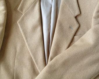 Camel's Hair 2 Button Sport Jacket Dillards  40 S