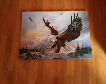 Soaring Eagle puzzle picture