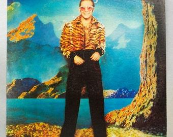 Elton John - Caribou Album MCA/Island Records 1974 Original Vintage Vinyl Classic Rock Pop Record LP