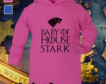 Baby of House Stark Baby Hoodie / Top - Game of Thrones