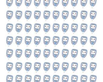 Blood Sugar Stickers 90 piece set , Journals , Calendar , reminder , Labels , Adults , Kids , Teens