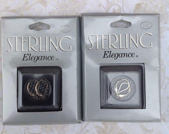 Sterling Silver Lever Earrings, two pair | Sterling Elegance | Lever Earrings | Silver | 925