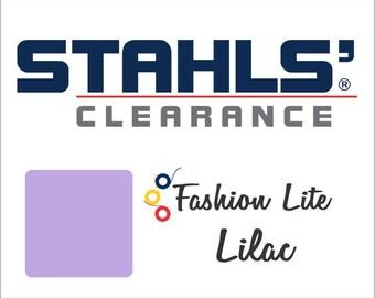 "12"" x 12"" - 20 Craft Sheets - Stahls' Fashion Lite - Smooth – Iron-on - Heat Transfer Vinyl - HTV - Lilac"