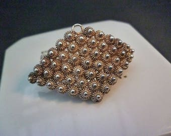 """A stunning vintage brooch or pendant - 925 - sterling silver - Unique - 1.5"""" x 0.8"""""""