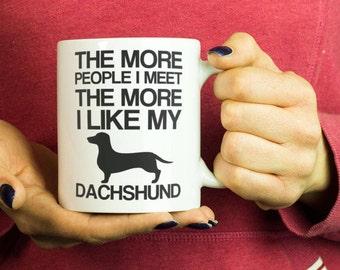Dachshund coffee mug - funny dog coffee mug,dachshund mom mug,funny dachshund mug,dachshund gift, dachshund gifts, dachshund cup