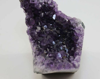Top! 10.9 oz. NATURAL Uruguay AMETHYST QUARTZ Crystal Specimen Bookend Metaphysical Properties