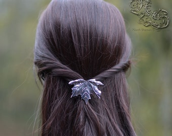 "Barrette ""Arkki"" - silver version"