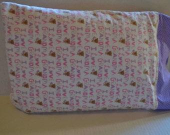 I Love Grandma Toddler Pillowcase
