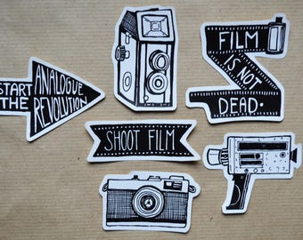 Analogue Revolution - Film Photography Sticker Pack