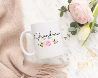 Grandma Mug, Aunt Mug, Pregnancy Announcement Mug, Pregnancy Announcement Gift, Mother's Day Mug