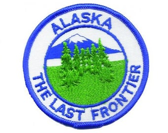 Vintage Alaska The Last Frontier Patch