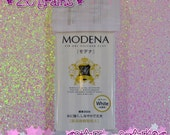Modena White 250g - Padico Japan Resin Waterproof Air Dry Clay for Fake Sweets, Food, Flowers, Decoden & More