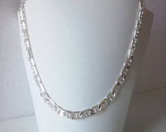 Chain 925 Silver necklace made in Italy