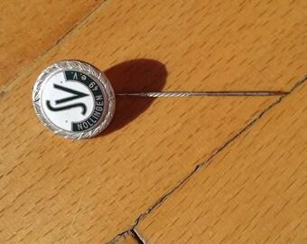 Vintage pin badge SV Nollingen football club Germany