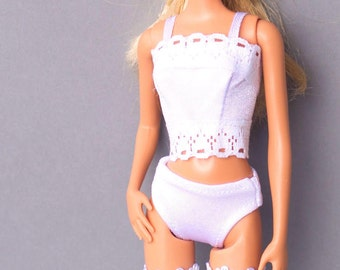 Barbie clothes - Barbie lingerie, Barbie Panty, Barbie top Barbie Stockings