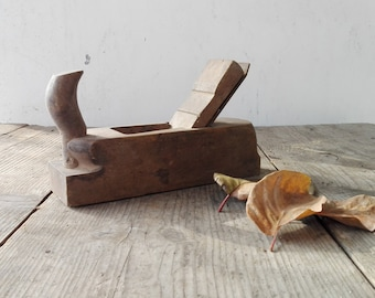 VTG Carpenters Planer // Authentic Carpentry Hand Tool, Antique Woodworking Plane, Old Wood Processing Grater, Rustic Treated Wood Art Gift