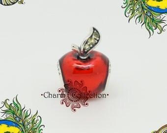 Genuine Pandora, Disney, Snow White's Apple Charm 791572EN73